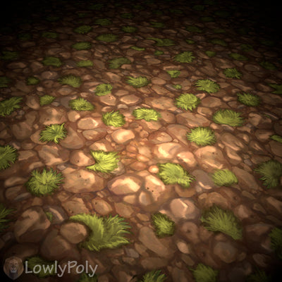 Rocks Vol.11 - Hand Painted Texture Pack - LowlyPoly