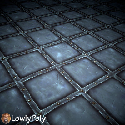 Tiles Vol.37 - Hand Painted Textures - LowlyPoly