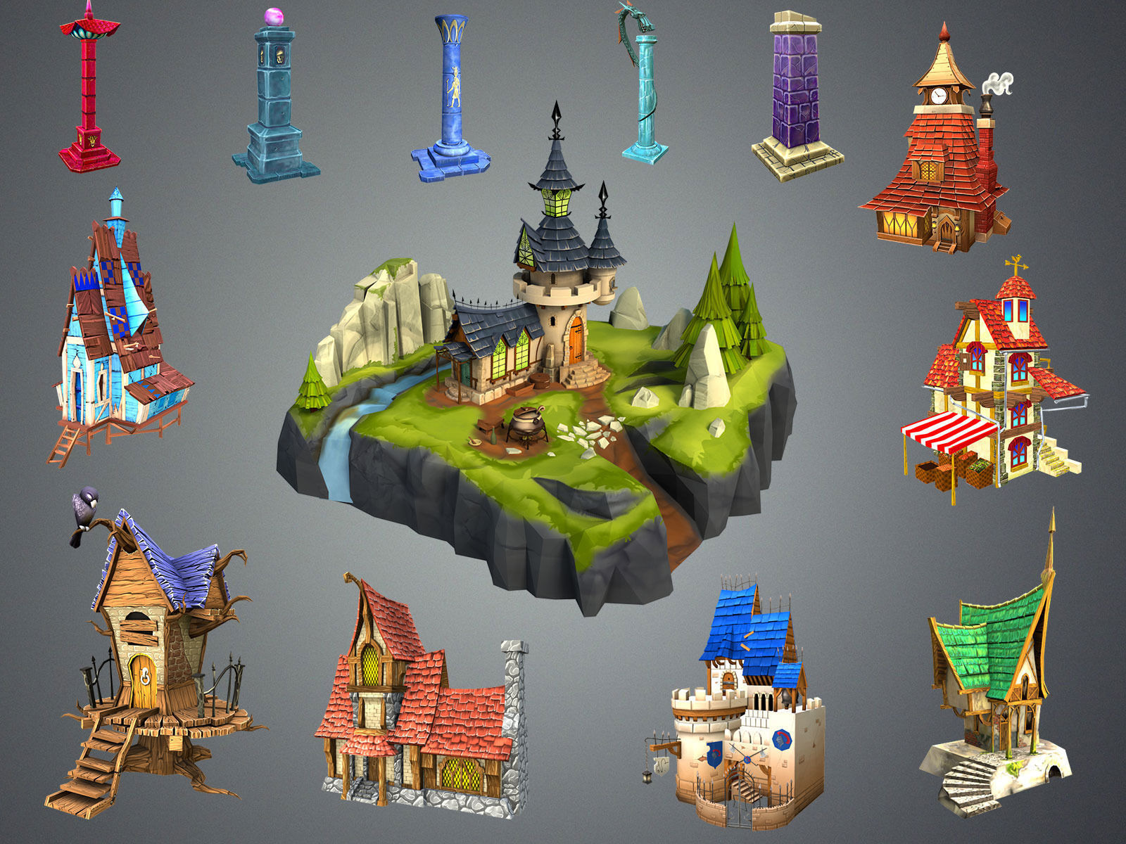 Stylized Fantasy Collection