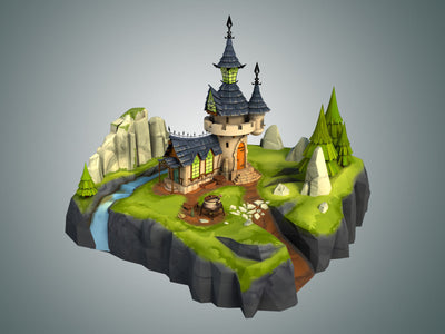 Stylized Fantasy Collection - LowlyPoly