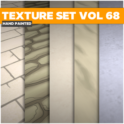 Terrain Vol.68 - Game PBR Textures - LowlyPoly