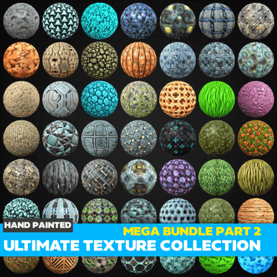 Ultimate Texture Collection - Mega Bundle Part 2 - LowlyPoly