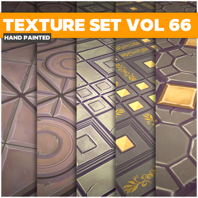 Tiles Vol.66 - Game PBR Textures - LowlyPoly