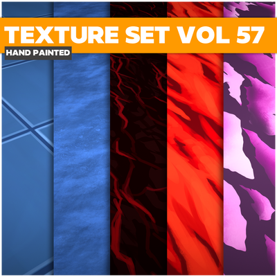 Surface Vol.57 - Game PBR Textures - LowlyPoly