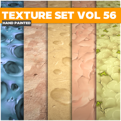 Terrain Vol.56 - Game PBR Textures - LowlyPoly