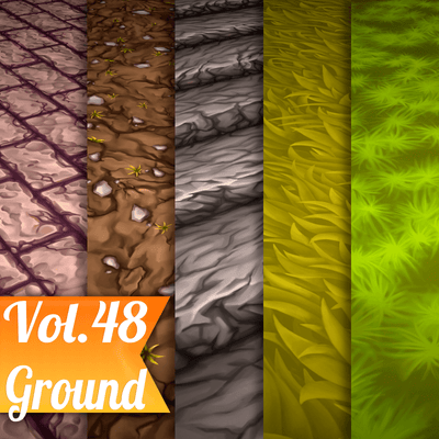 Ground Vol.48  - Hand Painted Textures