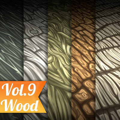Wood Vol.09 - Hand Painted Texture Pack