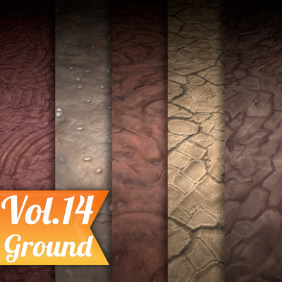 Stylized Texture Pack - VOL 2 - LowlyPoly