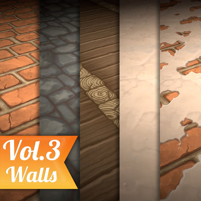 Stylized Texture Pack - VOL 1 - LowlyPoly