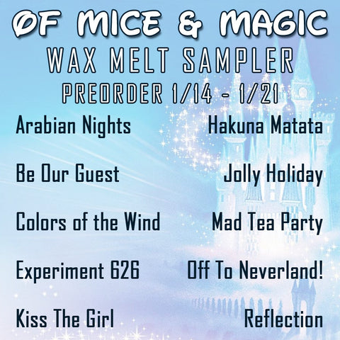 Of Mice & Magic scent shots