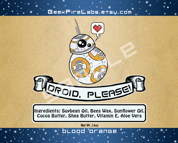 Droid, Please! Lip Balm
