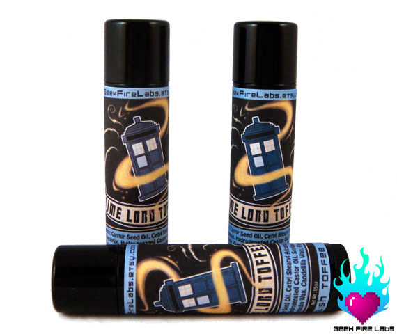 Time Lord Toffee Lip Balm