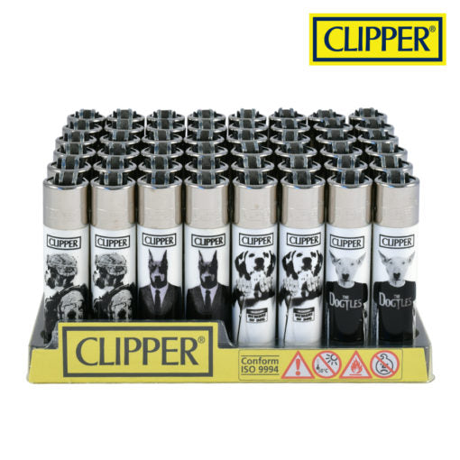 Clipper Refillable Lighters w/Poke