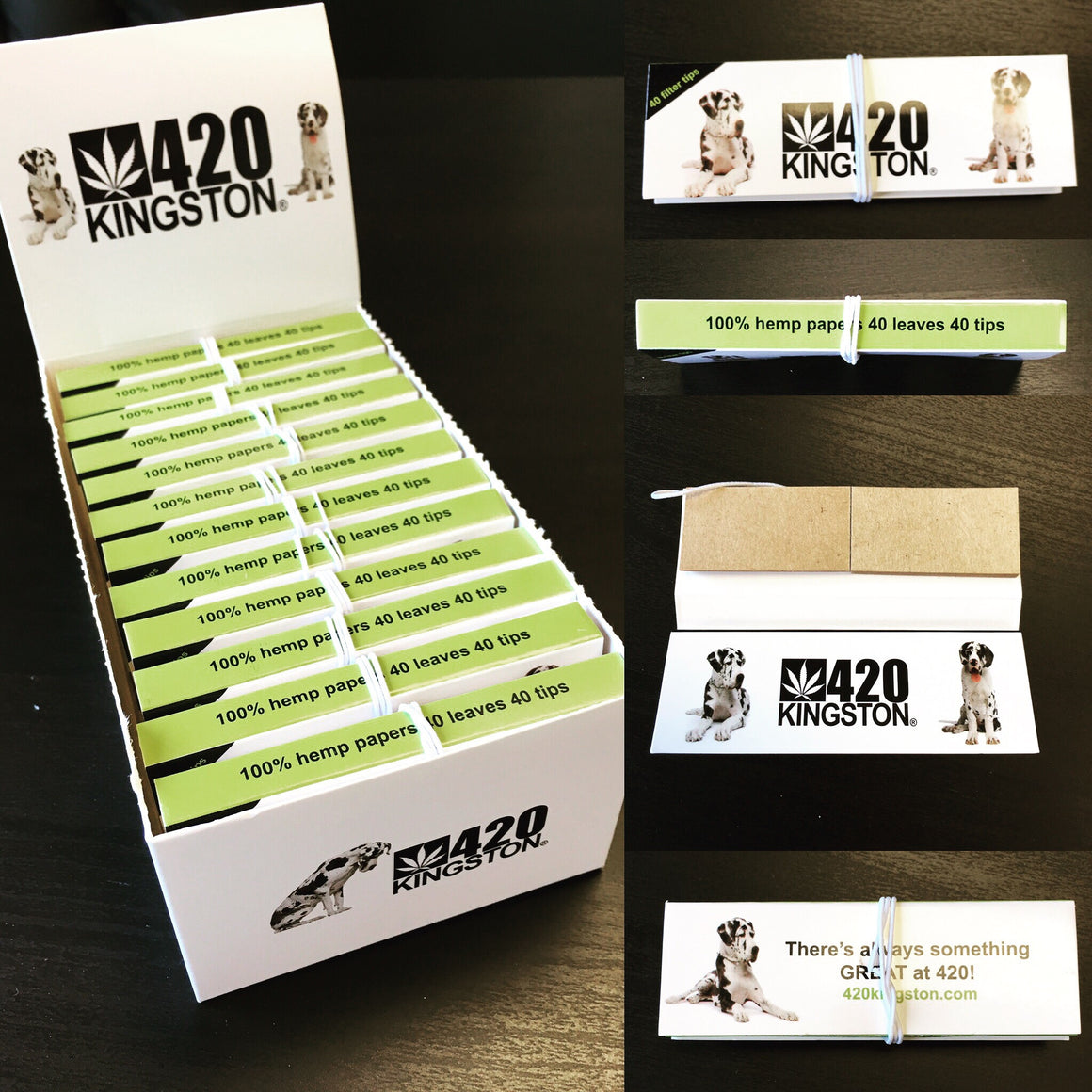 420 Kingston Hemp Papers and Tips