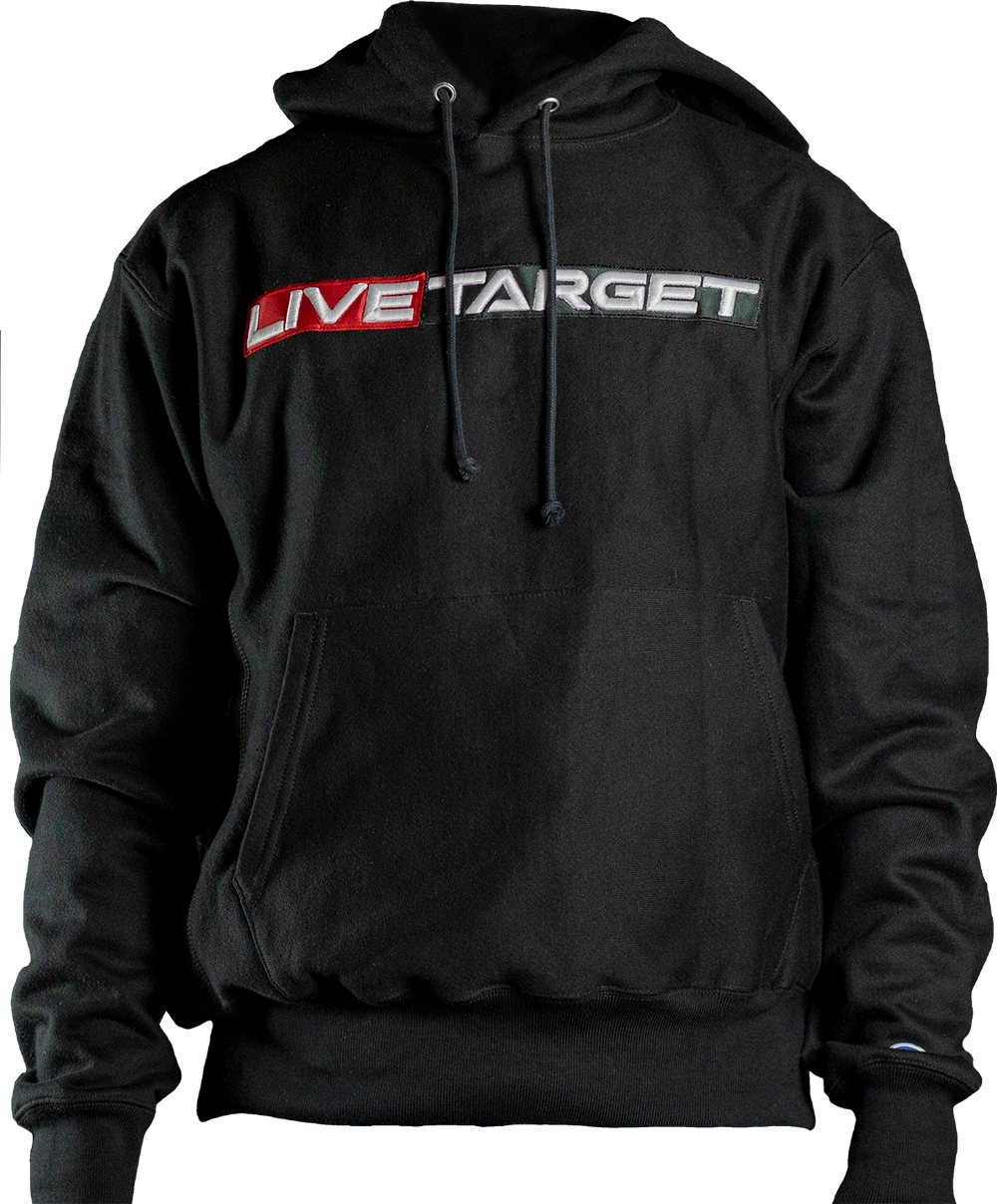 LIVETARGET Premium 3D Embroidered Hoodie