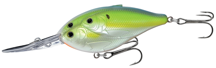 827 Chartreuse Pearl / Blue Shad