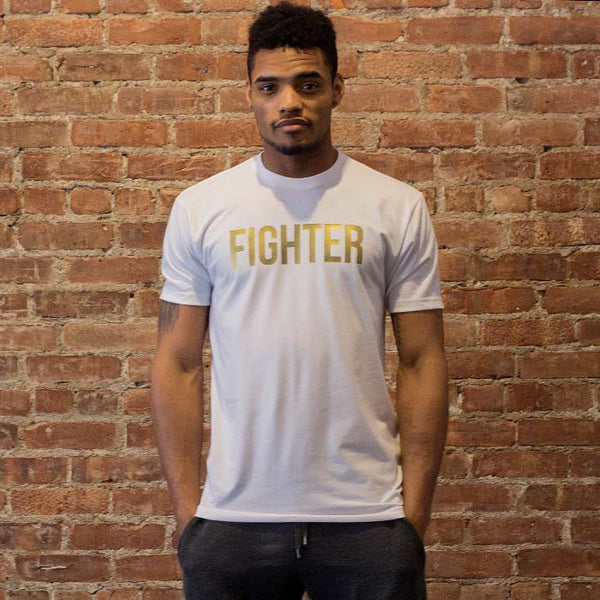 FIGHTER Tee- White