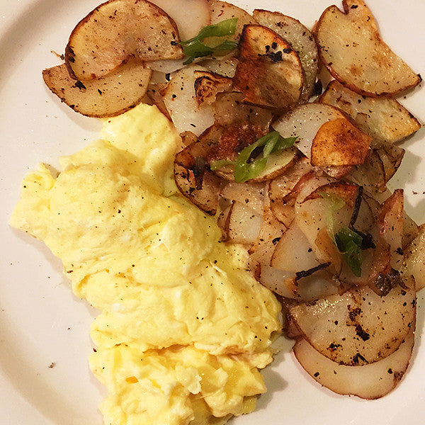 Home Fries & Scrambled Eggs