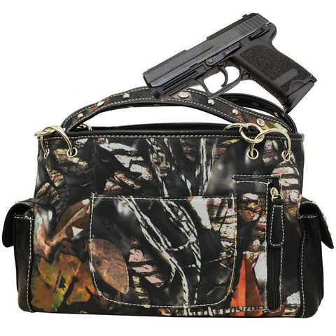 bd388315bc7e Redneck Rebel Flag Camouflage Double Guns Handbag Purse ( 4 color)