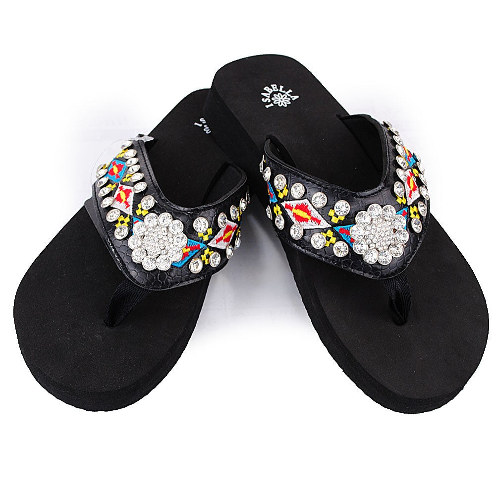 3477f18bb276 S067 BK Rhinestone Bling Bling Flip Flops – EverythingAnythingShop.com