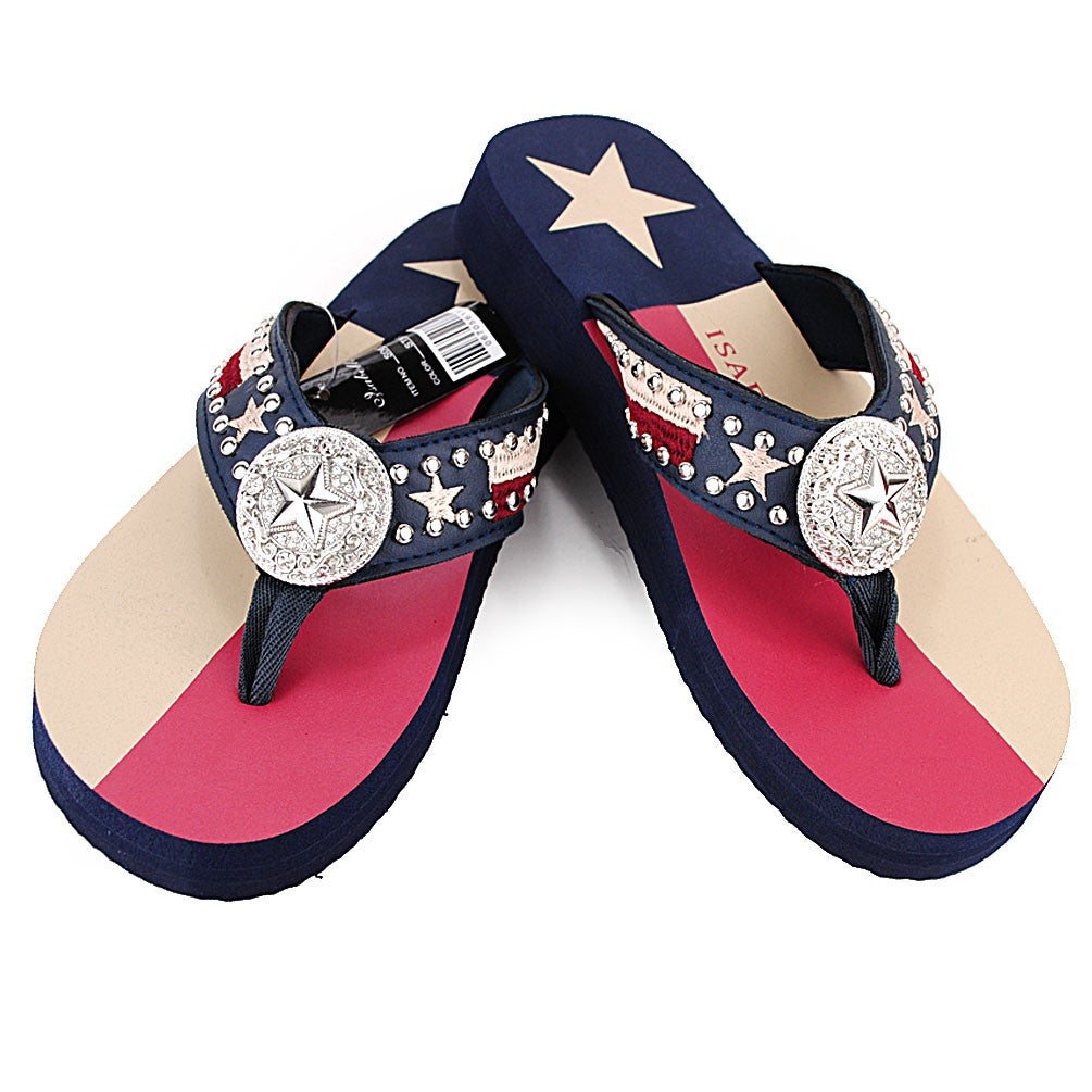 be902ad3f0f8 S067-1 Bling Bling Flip Flop – EverythingAnythingShop.com