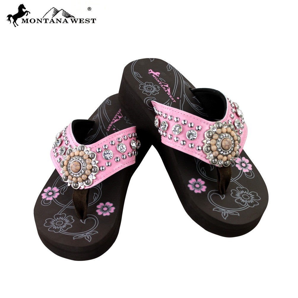 a061741870b2 SE16-S096 Bling Bling Collection Flip Flops Pink –  EverythingAnythingShop.com