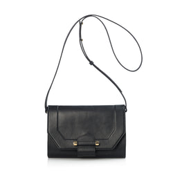 Enigma Shoulder Bag, Black