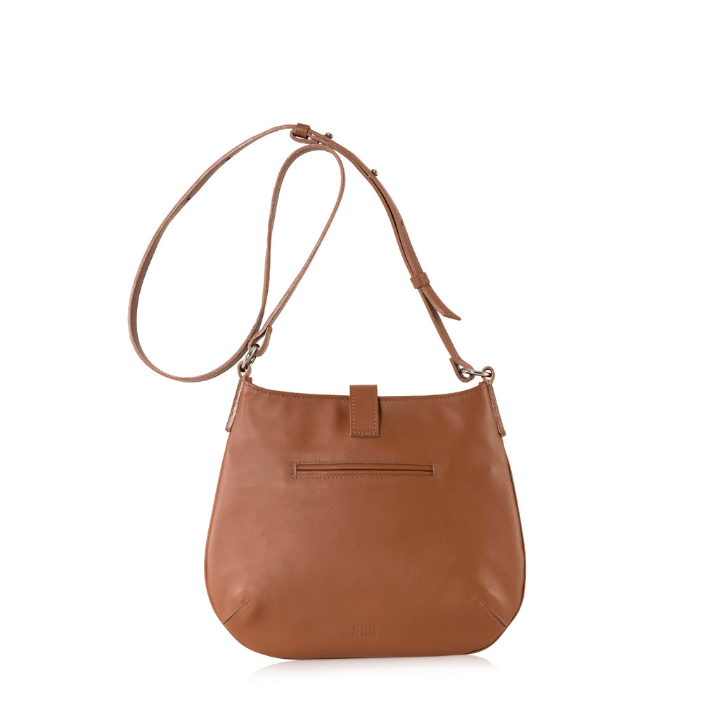 Tulip Crossbody Bag (Saddle Leather)