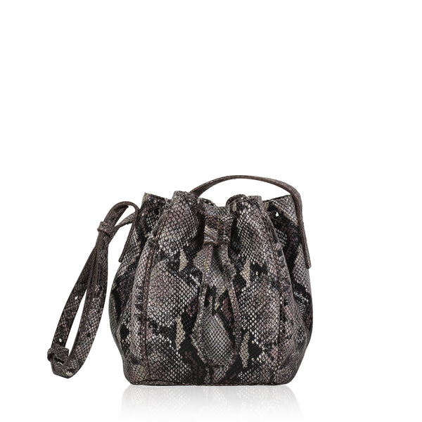 High Line Draw String Bag (Snake)