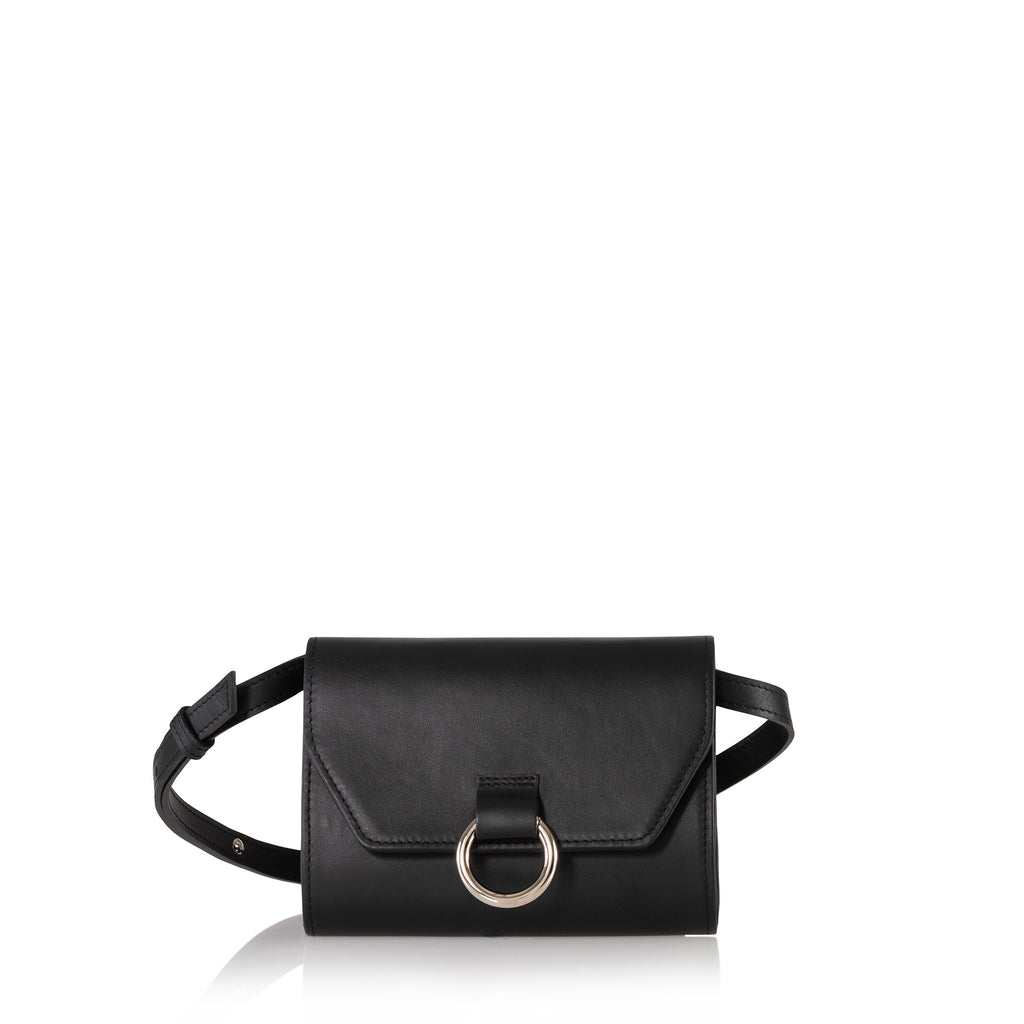 Lady O Mini Bag (Black Leather)