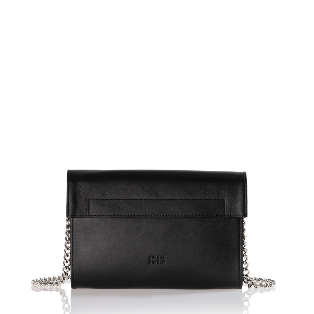 Trophy Chain Shoulder Bag (Black)