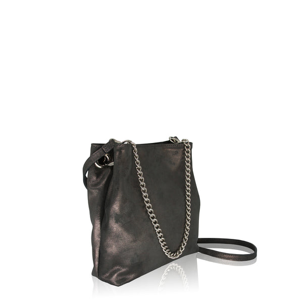 Arm Candy ( Slate Metallic Leather)