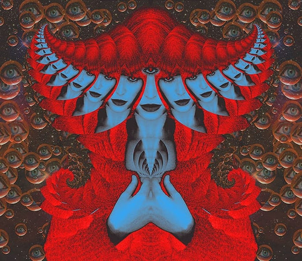 Stardust in Aries - psychedelic art