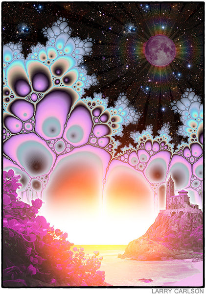 Moonshine Cove - psychedelic art
