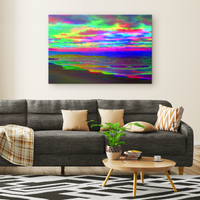 Dream in Rainbows - Canvas - psychedelic art