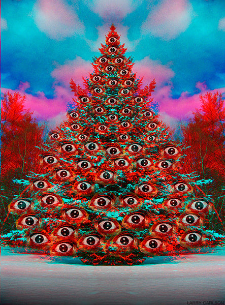 Evergreen Eyes - psychedelic art