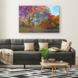 Afternoon Light - Canvas - psychedelic art