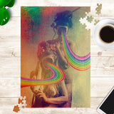 Rainbow Acid - Jigsaw Puzzle - psychedelic art