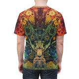 Animal Spirit Tree - Unisex T-Shirt - psychedelic art