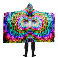 Trip Head - Hooded Blanket - psychedelic art