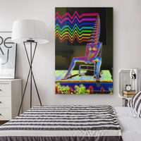 Wave Rider - Canvas - psychedelic art