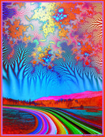 Road to Forever - psychedelic art