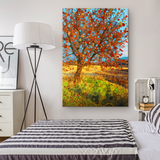 Apple Star Tree - Canvas - psychedelic art