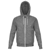 Optical Illusion - Hoodie - psychedelic art