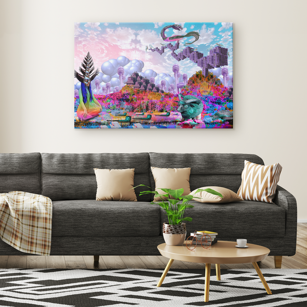 Hallowtide - Canvas - psychedelic art