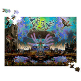 Centro Tree - Jigsaw Puzzle - psychedelic art