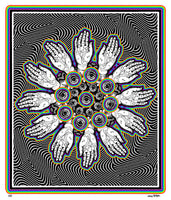 Hands of Fate - psychedelic art
