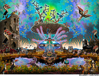 Centro Tree - psychedelic art