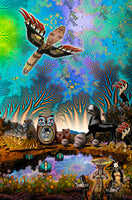 Return of the Bird Tribe - psychedelic art
