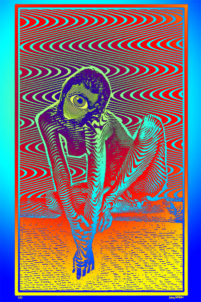 Cyclops Fortuna - Color Edition - psychedelic art